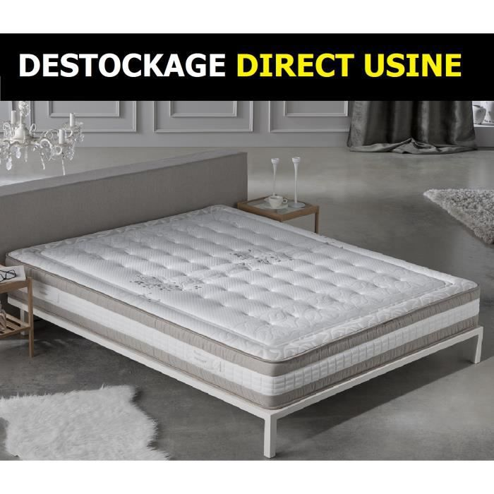 matelas summum bio latex 8 cm m moire 140x190 cm achat vente matelas cdiscount. Black Bedroom Furniture Sets. Home Design Ideas