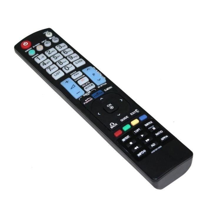 t l commande de tv compatible avec lg akb72914065 t l commande tv avis et prix pas cher. Black Bedroom Furniture Sets. Home Design Ideas
