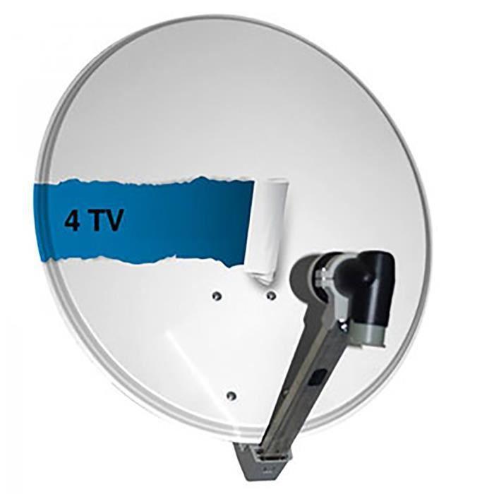 parabole satellite lnb 4 tv parabole avis et prix pas cher cdiscount. Black Bedroom Furniture Sets. Home Design Ideas