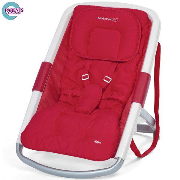 transat bebe evolutif bebe confort keyo rouge rouge. Black Bedroom Furniture Sets. Home Design Ideas