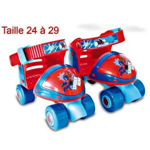 PATIN A ROULETTE SPIDERMAN AJUSTABLE D'ARPEJE TAILLE 24 29 PATIN A