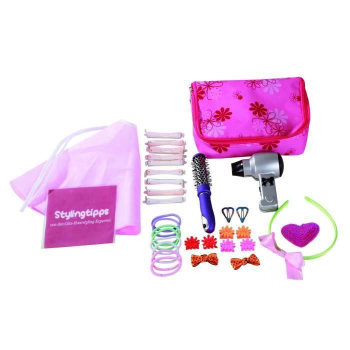 accessoires pour poup es coiffure achat vente pr t a porter poup e accessoires pour. Black Bedroom Furniture Sets. Home Design Ideas