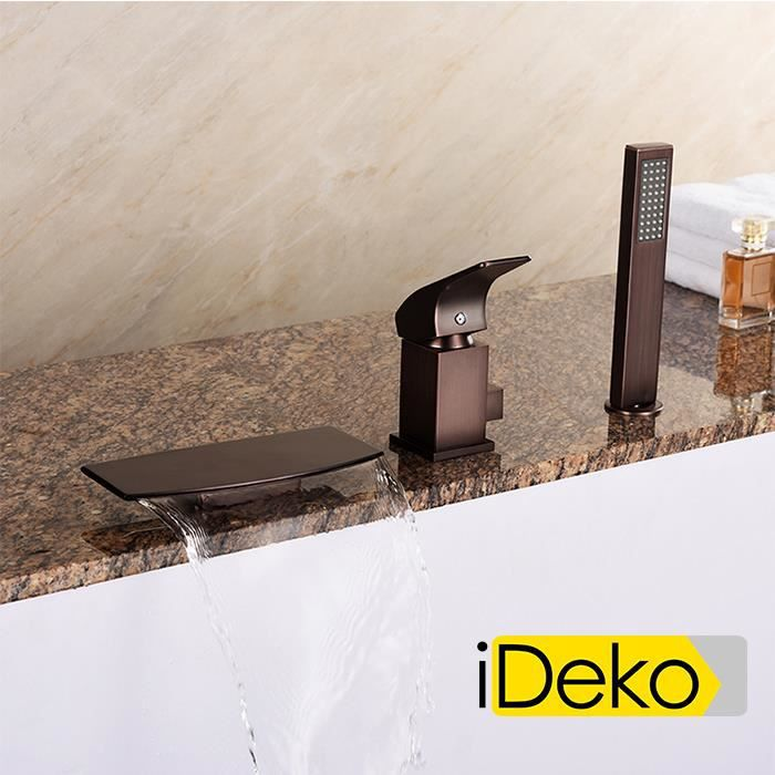 ideko robinet mitigeur cascade salle de bain douche. Black Bedroom Furniture Sets. Home Design Ideas