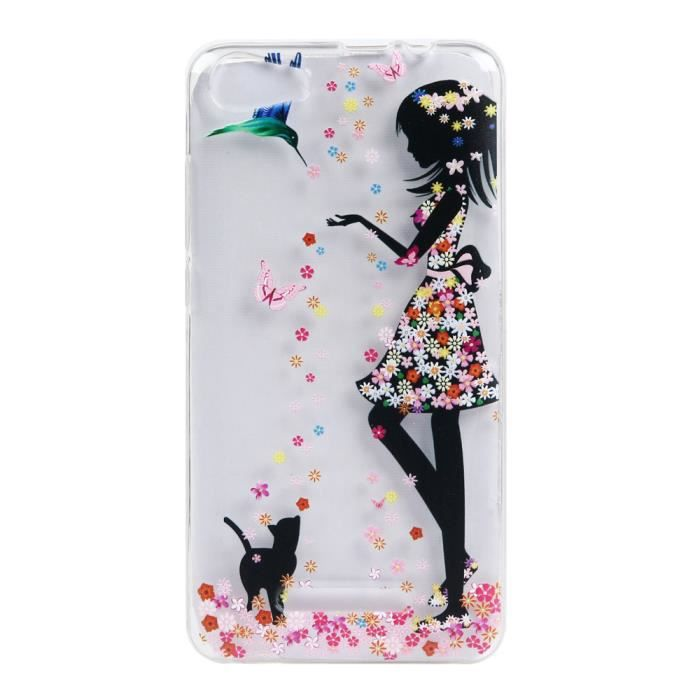 Coque wiko lenny ii 2 ijia ultra mince transparent for Housse wiko tommy 2