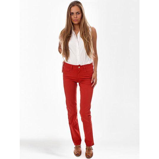 Jeans Ober Leslie Rouge Rouge Achat   Vente jeans Jeans Ober Leslie 74b37bde8fca