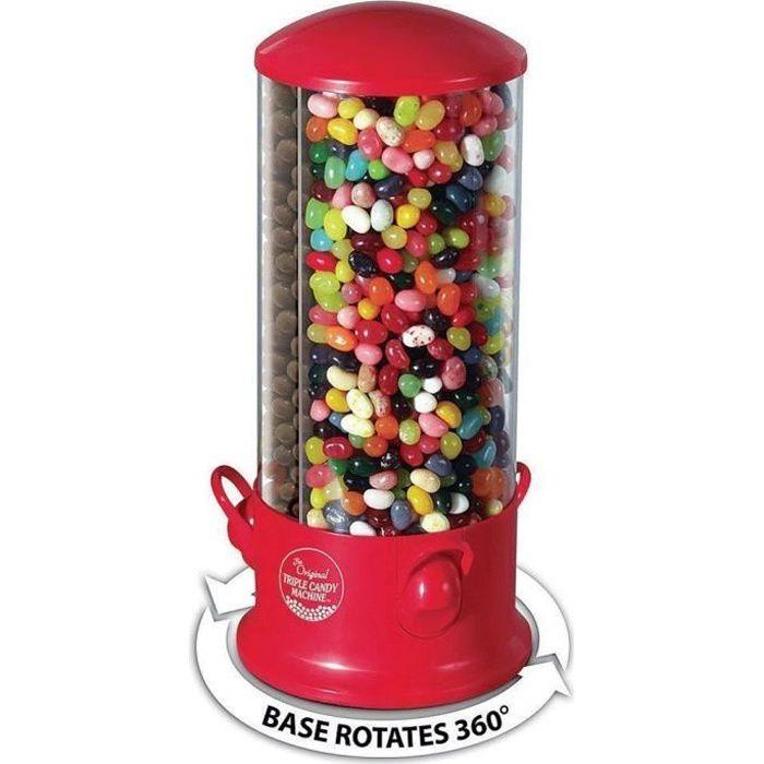 distributeur bonbons chewing gum cacahu tes x3 compartiments 29 x 13 cm achat vente. Black Bedroom Furniture Sets. Home Design Ideas