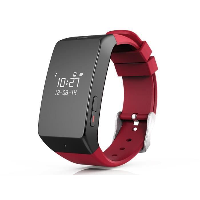 mykronoz montre connect e zewatch 2 rouge achat montre. Black Bedroom Furniture Sets. Home Design Ideas