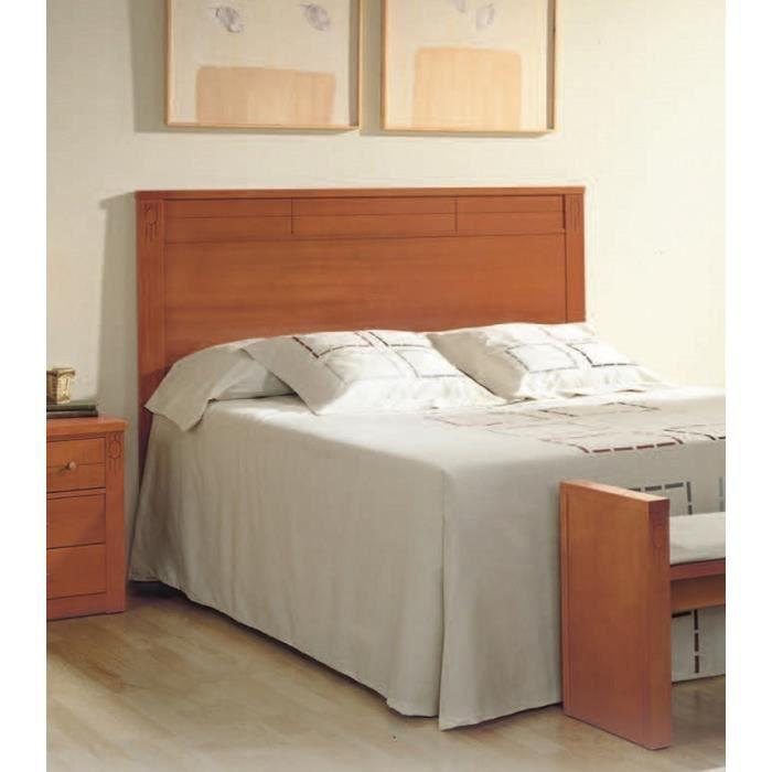 t te de lit en mdf 118 x 146 x 03 cm achat vente t te de lit t te de lit 118x146x03 cm. Black Bedroom Furniture Sets. Home Design Ideas