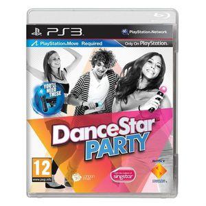 JEU PS3 DANCESTAR PARTY / Jeu console PS3 (MOVE)
