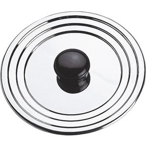 EQUINOX Couvercle anti-projection 12-14-16 cm gris