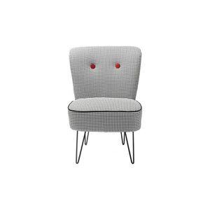 fauteuil pied de poule achat vente fauteuil pied de poule pas cher cdiscount. Black Bedroom Furniture Sets. Home Design Ideas