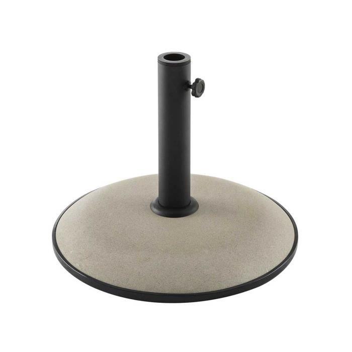 pied de parasol 48 mm achat vente pied de parasol 48 mm pas cher les soldes sur cdiscount. Black Bedroom Furniture Sets. Home Design Ideas