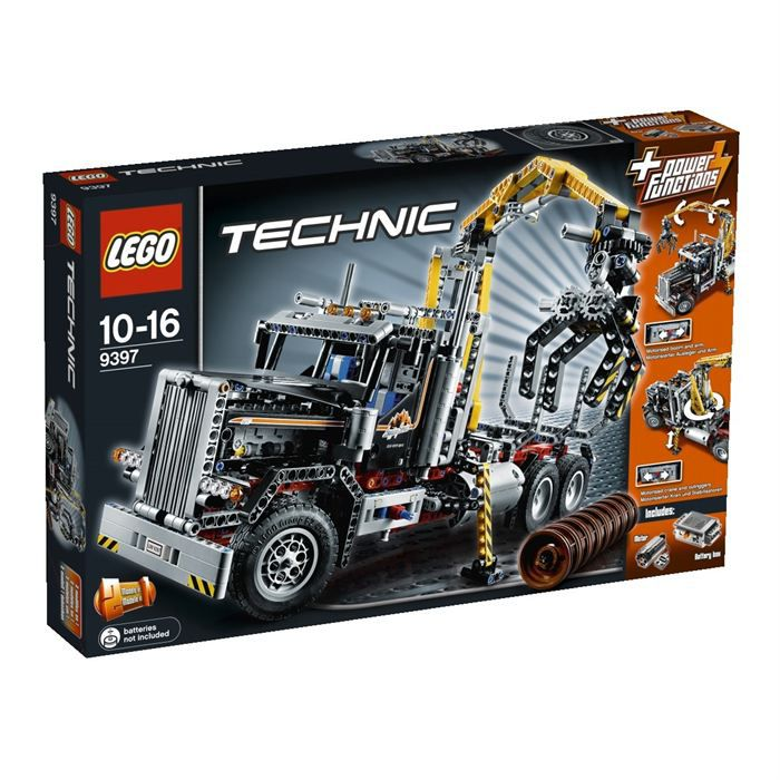 lego technic le camion forestier achat vente assemblage construction cdiscount. Black Bedroom Furniture Sets. Home Design Ideas