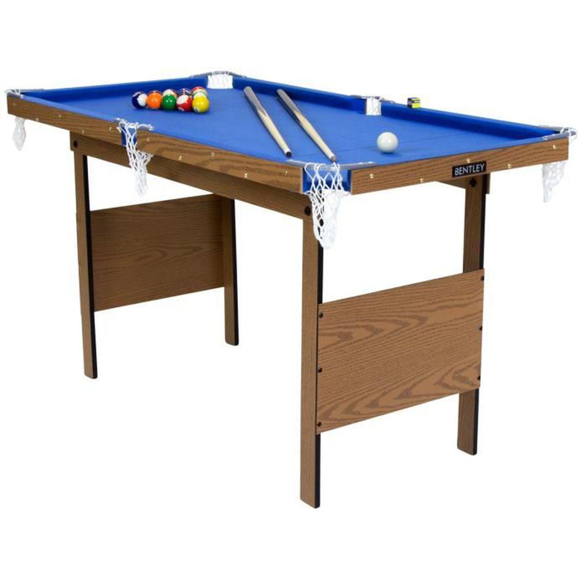 table de billard am ricain 2 queues billard jeu de billes. Black Bedroom Furniture Sets. Home Design Ideas
