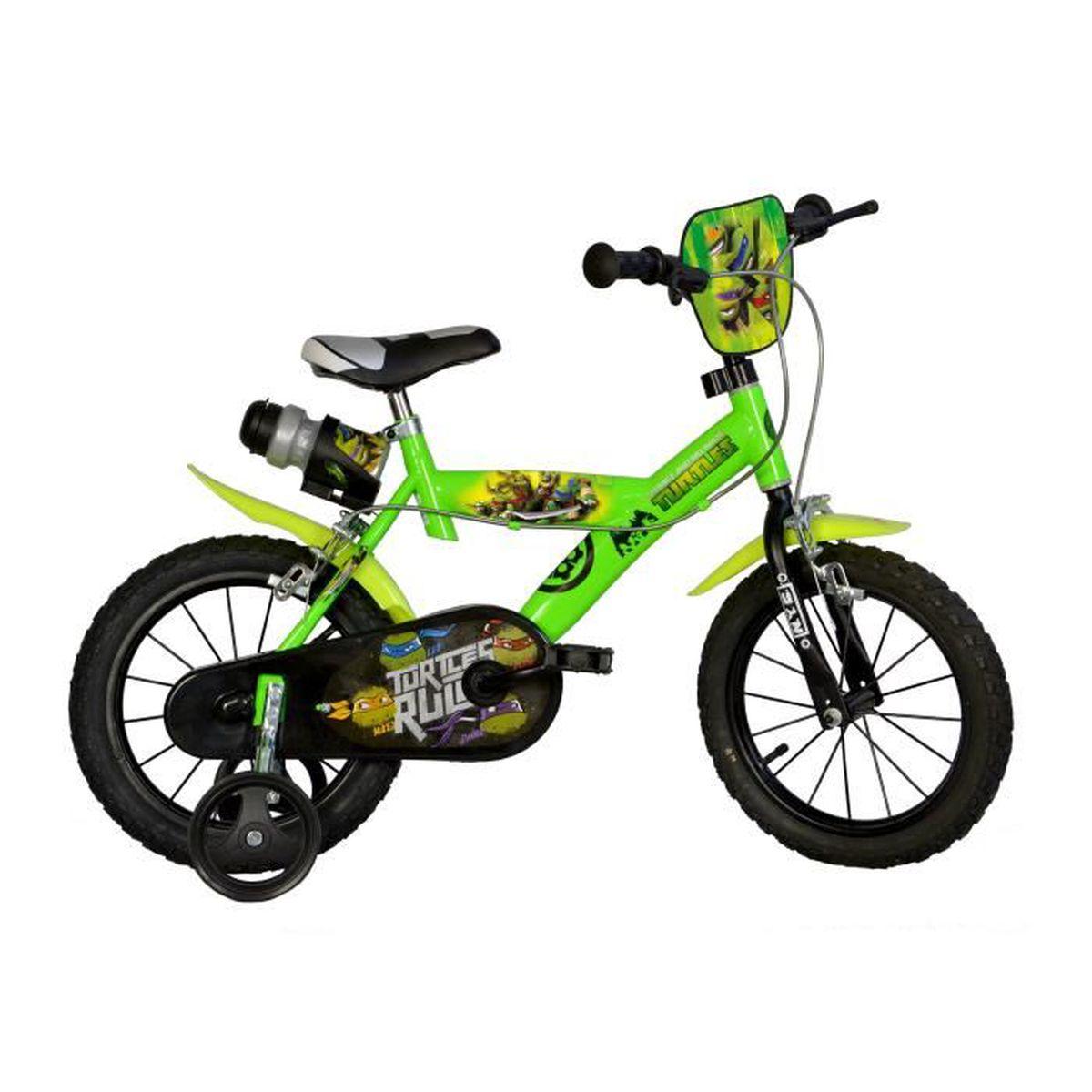 vel enfant dino bikes ninja turtles 16 pouces. Black Bedroom Furniture Sets. Home Design Ideas