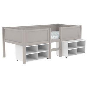desserte de lit achat vente desserte de lit pas cher cdiscount. Black Bedroom Furniture Sets. Home Design Ideas
