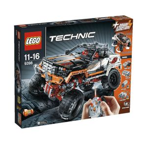ASSEMBLAGE CONSTRUCTION Lego Technic Le 4 x 4 Crawler