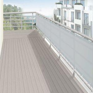 brise vent balcon achat vente brise vent balcon pas cher les soldes sur cdiscount cdiscount. Black Bedroom Furniture Sets. Home Design Ideas