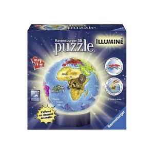 puzzle 3d globe achat vente jeux et jouets pas chers. Black Bedroom Furniture Sets. Home Design Ideas