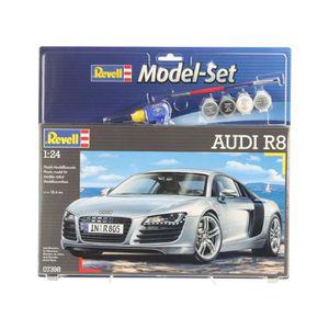 VOITURE À CONSTRUIRE REVELL Model Set Audi R8 Maquette à Construire, à