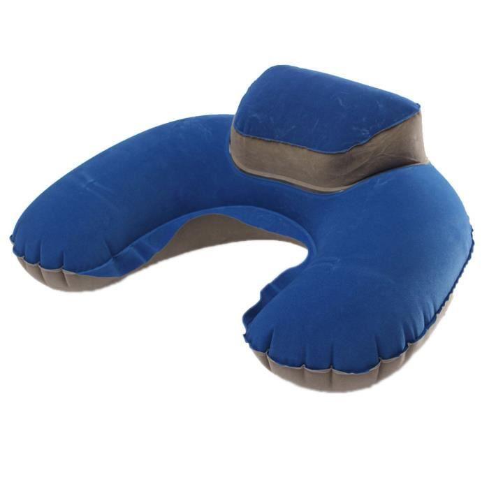 prise en charge du sommeil cou gonflable oreiller doux voyage coussin d 39 air pour les vols de. Black Bedroom Furniture Sets. Home Design Ideas