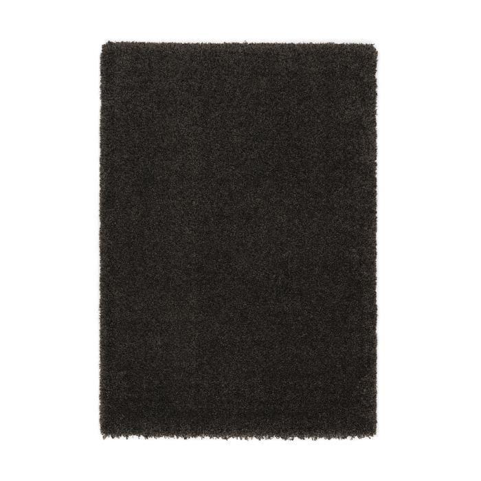 Tapis salon como marron achat vente tapis soldes d for Taille tapis salon