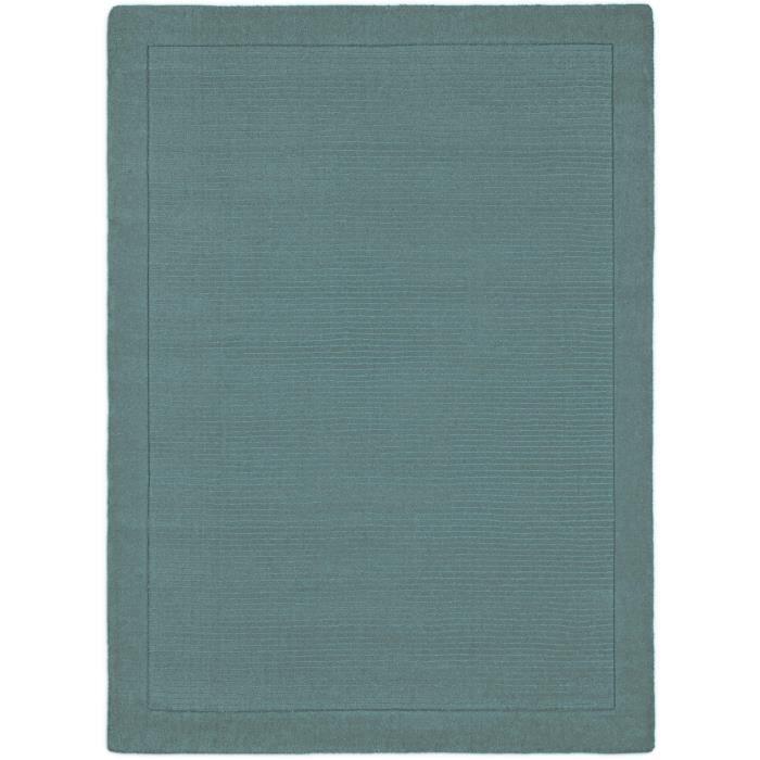 benuta tapis uni turquoise 240x340 cm achat vente tapis cdiscount. Black Bedroom Furniture Sets. Home Design Ideas