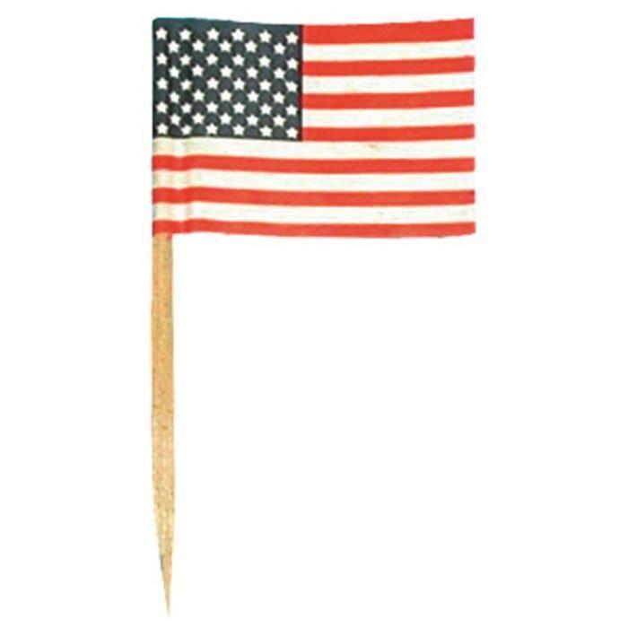 mini drapeaux usa x50 achat vente drapeau d coratif bois cdiscount. Black Bedroom Furniture Sets. Home Design Ideas