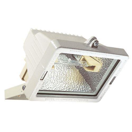 Projecteur halog ne 150w blanc achat vente projecteur for Projecteur exterieur 500 watts