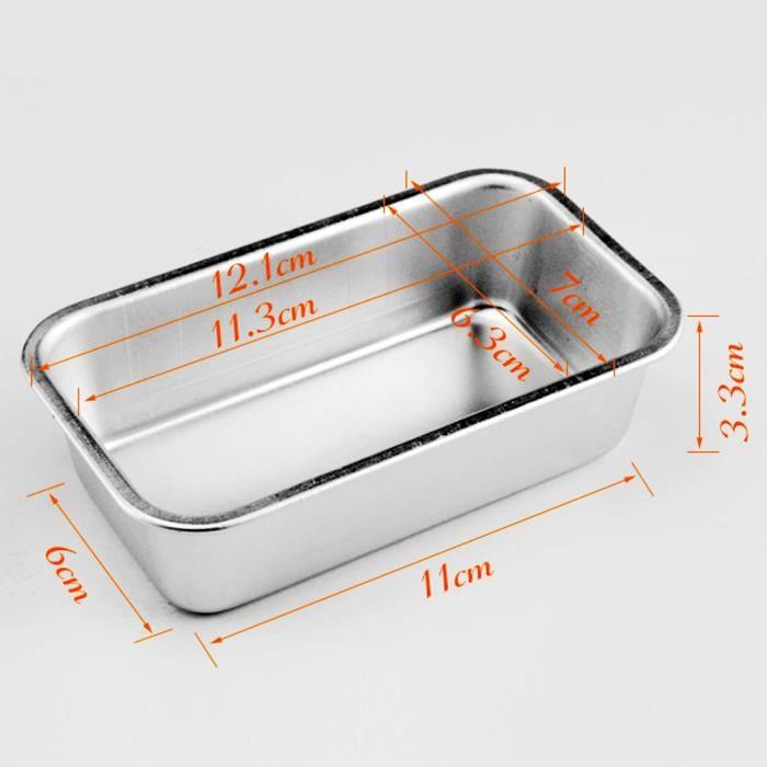 Petit Rectangle Loaf Tin Pour Home Bread Gâteaux Pour