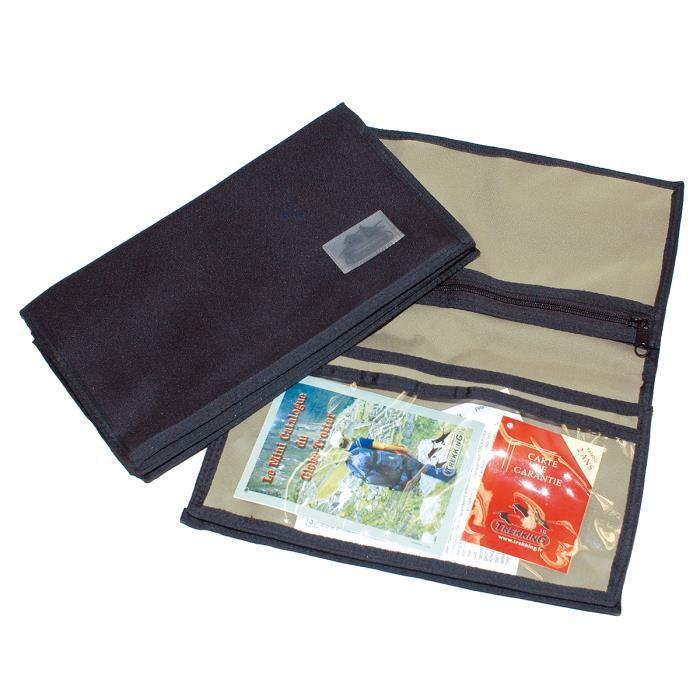pochette pour documents de voyage cartes routi r kaki achat vente pochette pochette pour. Black Bedroom Furniture Sets. Home Design Ideas