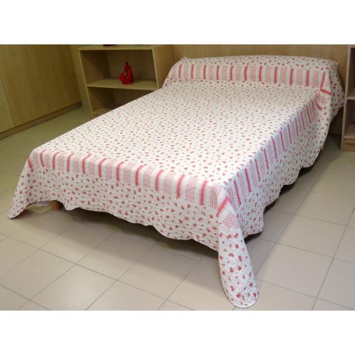 couvre lit boutis matelass 260x250 cm liberty achat vente jet e de lit boutis cdiscount. Black Bedroom Furniture Sets. Home Design Ideas