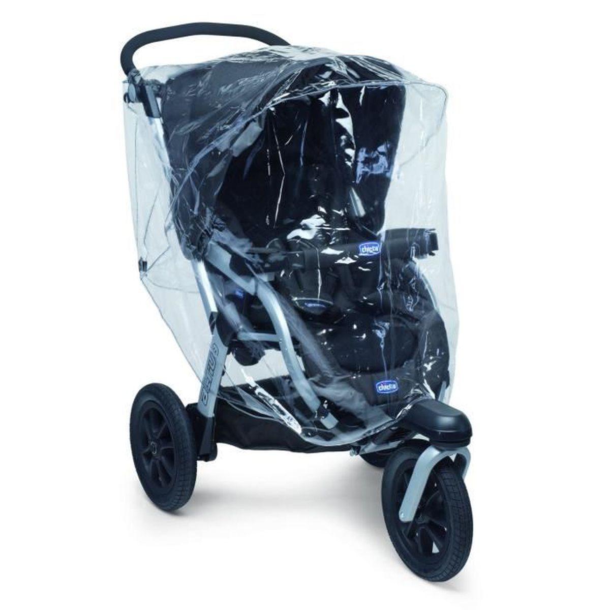 chicco habillage pluie universel poussette 3 roues achat vente habillage pluie 2009800532399. Black Bedroom Furniture Sets. Home Design Ideas