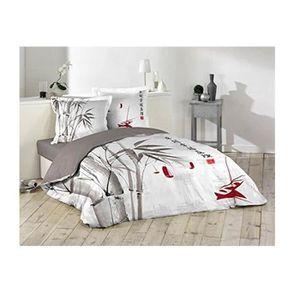 housse couette bambou achat vente housse couette bambou pas cher soldes d hiver d s le. Black Bedroom Furniture Sets. Home Design Ideas