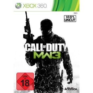 JEUX XBOX 360 CALL OF DUTY : MODERN WARFARE 3 [IMPORT ALLEMAN…