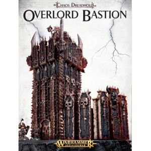 FIGURINE - PERSONNAGE Chaos Dreadhold: Overlord Bastion 64-15 - Warhamme