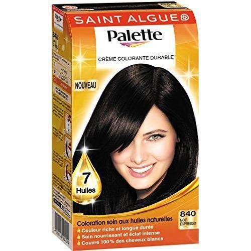 coloration saint algue palette coloration permanente 840 noir - Coloration Permanente Noir