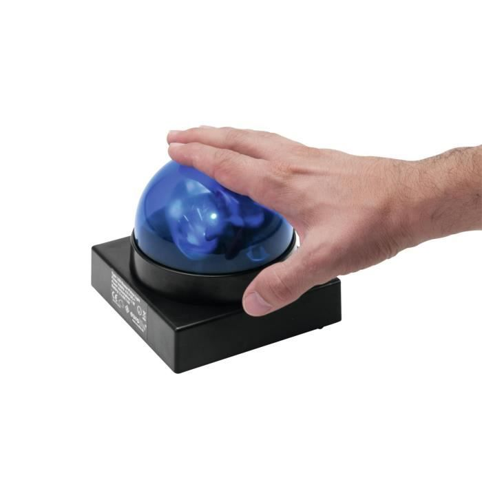 led buzzer gyrophare bleu lampe et spot de sc ne avis et prix pas cher cdiscount. Black Bedroom Furniture Sets. Home Design Ideas