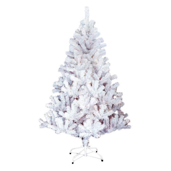 Sapin de no l artificiel norway 780 branches hauteur 180 cm blanc achat vente pied de sapin - Etoile de noel artificielle ...