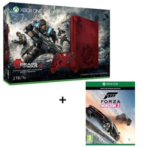 CONSOLE XBOX ONE NOUV. Xbox One S 2To Gears of War 4 Limited Edition + Fo