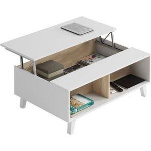 Table scandinave achat vente table scandinave pas cher les soldes sur - Table salon cdiscount ...
