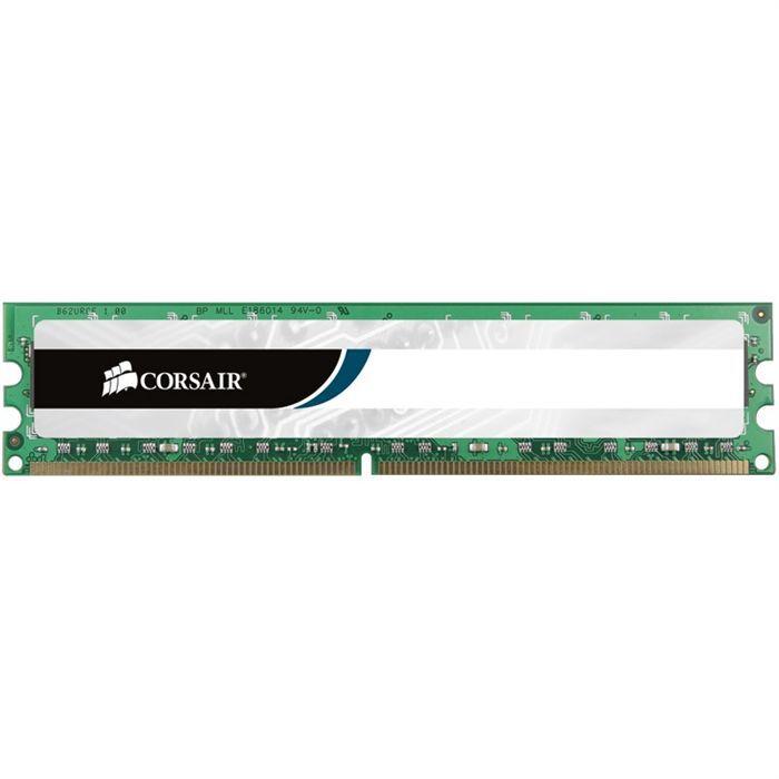 MÉMOIRE RAM Corsair 4Go DDR3 1333MHz C9