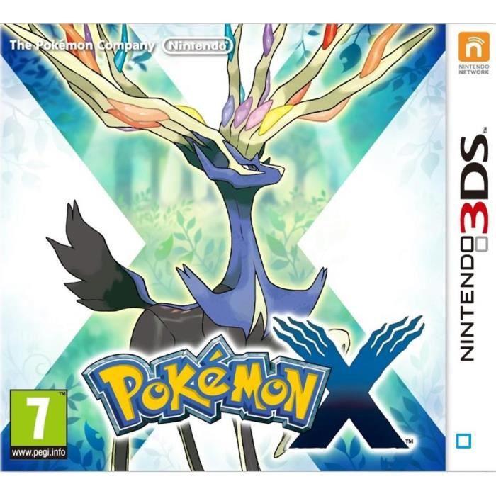 JEU 3DS Pokémon X Jeu 3DS