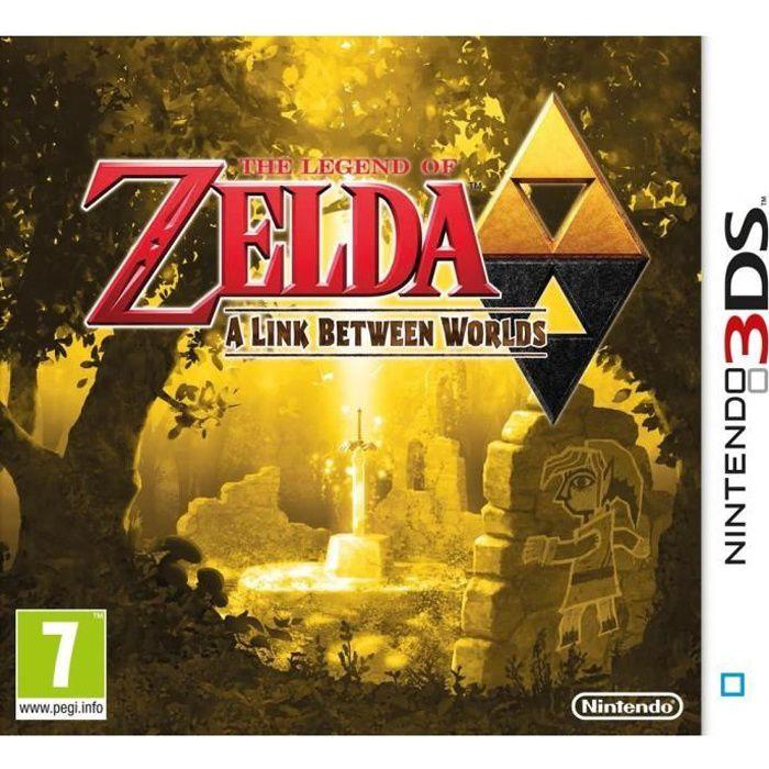 JEU 3DS The Legend Of Zelda: A Link Between Worlds Jeu 3DS