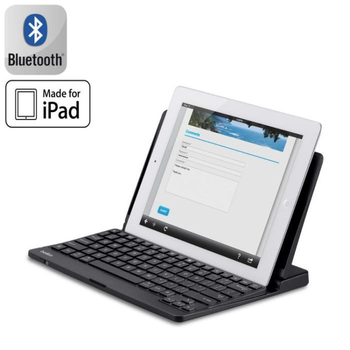 informatique tablettes tactiles ebooks belkin clavier bluetooth stand integre pour ipad f  fled