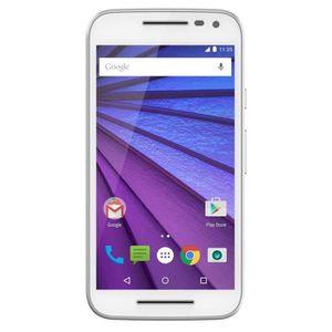 Motorola Moto G 4G 3ème Génération Blanc + Folio O