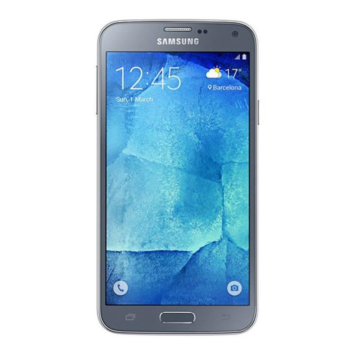 samsung galaxy s5 neo silver achat smartphone pas cher. Black Bedroom Furniture Sets. Home Design Ideas