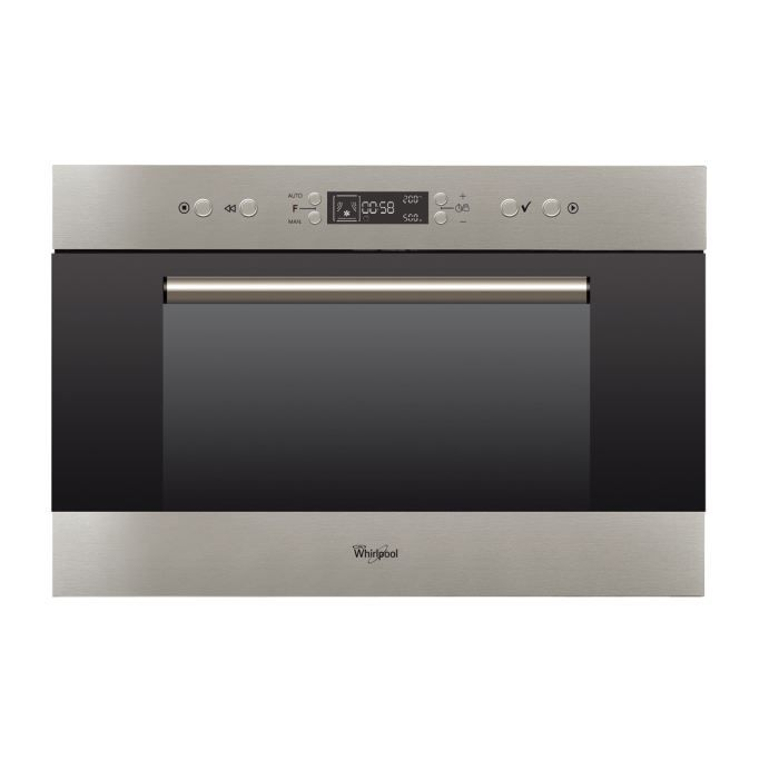 whirlpool amw703ix micro ondes encastrable inox anti electrom nager. Black Bedroom Furniture Sets. Home Design Ideas
