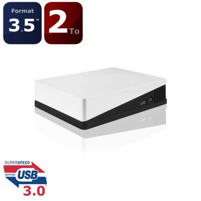 """DISQUE DUR EXTERNE Toshiba STOR.E Canvio Desktop 2To 3.5"""" USB3.0"""