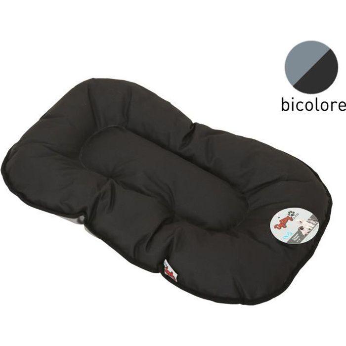 coussin flocon 77 cm noir et gris pour chien achat. Black Bedroom Furniture Sets. Home Design Ideas